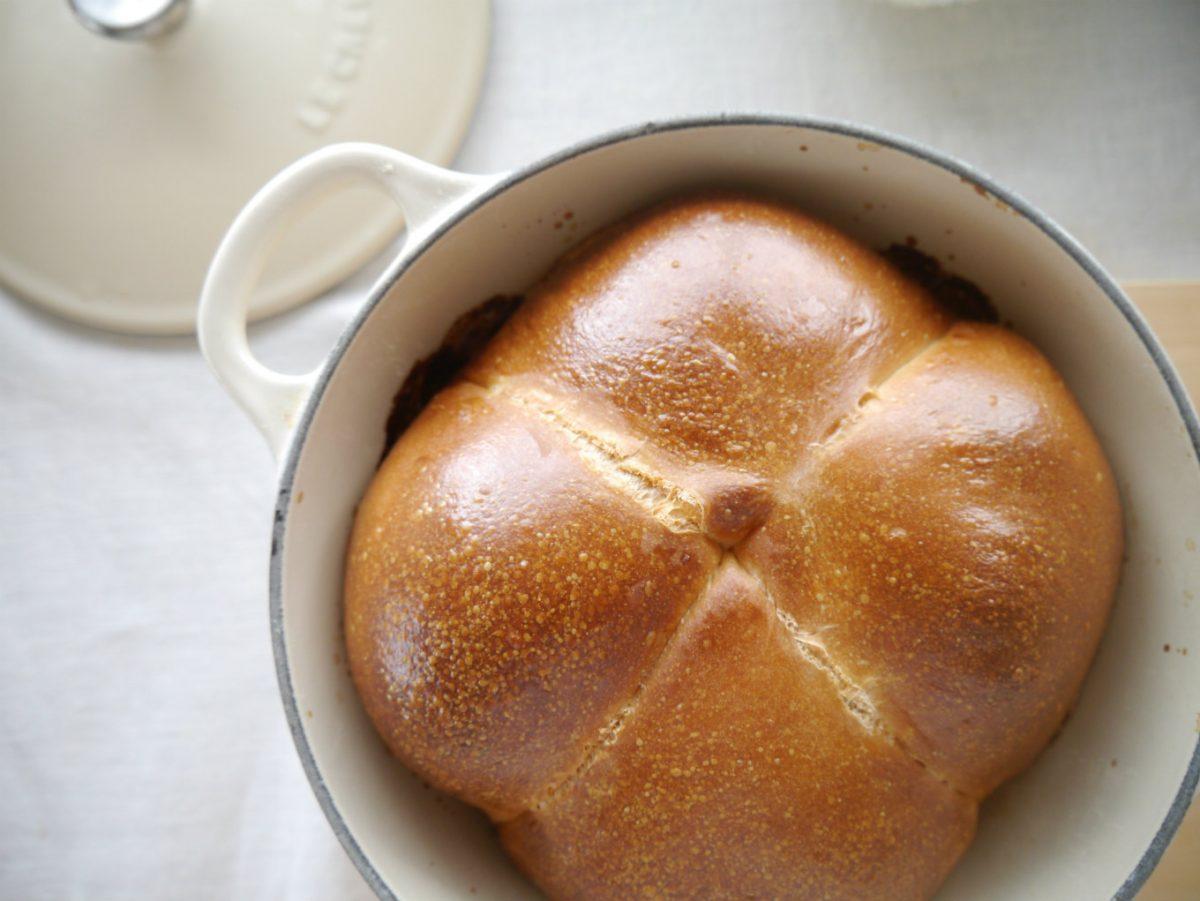 鍋焼き「豆乳食パン」