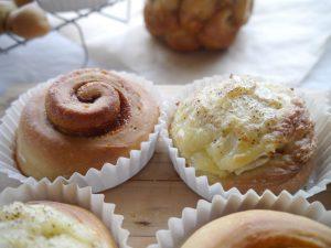 同じ成形で2つのパンをマスターできます。この作り方を覚えれば、アレンジ自由自在。