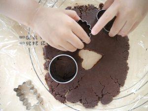 ビターチョコクッキー。
