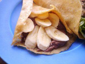 バナナ×チョコの組み合わせがこんなに美味しいだなんて♡