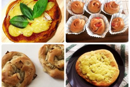パンの授業の後、ご自宅でさっそく復習してくださったパンたち。